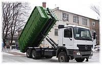 Вывоз негабаритных строительных отходов контейнерами 30 м3.