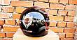 Шлем для мотоцикла Hel-Met F2-825-3 черный с красным глянец, фото 4