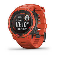 Смарт часы Garmin Instinct Solar Flame Red, фото 1