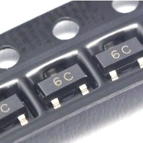 Чип BC817-40 BC817 6C, SOT23 транзистор биполярный NPN, 104348