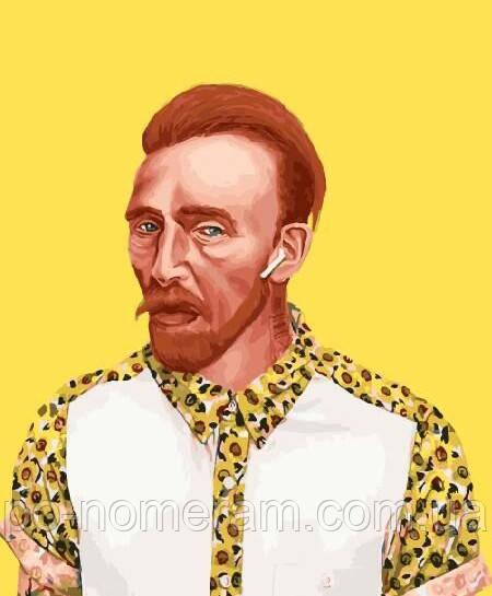 Картина по номерам BrushMe Ван Гог 21 века (BK-GX29266) 40 х 50 см (Без коробки)