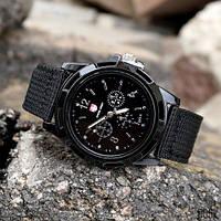 Наручний годинник Gemius Army Black, фото 1