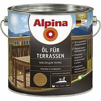 Масло ALPINA для террас 5л прозрачный (под колеровку)