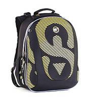 """Рюкзак школьный каркасный YES H-28 """"Riddle"""" (ортопедический рюкзак, ранец для школьников 6-10 лет)"""