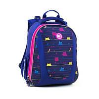 """Ортопедический каркасный рюкзак для школьников """"Cats"""" : для мальчика и девочки, для 1-4 класса, школьный ранец"""