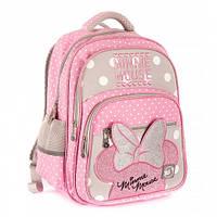 Школьный ортопедический рюкзак для девочек YES Minnie Mouse, 15л, 38 см, каркасный ранец для школы
