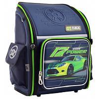 Ортопедический каркасный рюкзак для школьников  YES Power 34.5*27*14,  для мальчика, для 1-4 класса