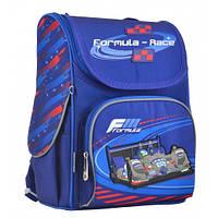 Ортопедический каркасный рюкзак для школьников 1 Вересня Formula-race: для мальчика, для 1-4 класса