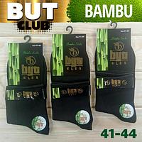 Мужские носки демисезонные BYT club Турция 41-44р  чёрные  НМД-05874