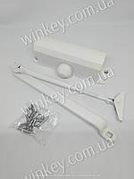 Дверной доводчик RYOBI 9903 STD с ножницами белый