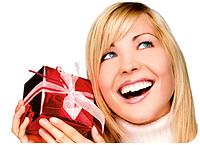 Подарки для женщин - интернет магазин подарков