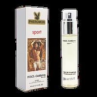 45 мл міні парфум Pheromon Dolce & Gabbana The One Sport Men (М)