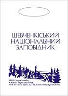 Пакет сувенирный 300х400 с логотипом с 2 сторон, фото 1