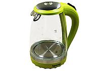 Электрический дисковой, (Стеклянный) чайник 1.8 л RAINBERG RB-701