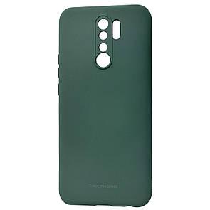 Чехол-накладка Silicone Hana Molan Cano для Xiaomi Redmi 9 (green)