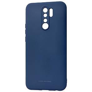 Чехол-накладка Silicone Hana Molan Cano для Xiaomi Redmi 9 (blue)