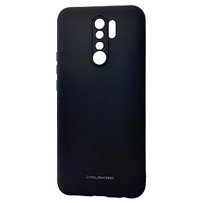 Чехол-накладка Silicone Hana Molan Cano для Xiaomi Redmi 9 (black)