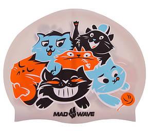 Шапочка для плавання дитяча CATS M057810