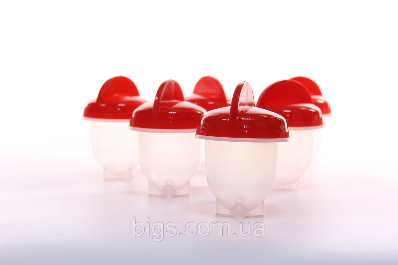 Яйцеварка Egg Boil набор для варки яиц без скорлупы 6 шт.