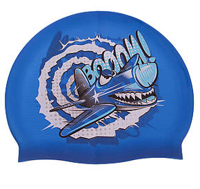 Шапочка для плавания детская MadWave CRAZY FLY M057807000W