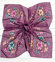 Легкий платок Angel София 95*95 см сиреневый