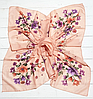 Легкий платок Angel София 95*95 см персиковый