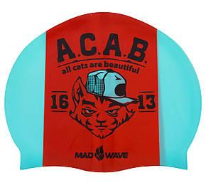 Шапочка для плавання MadWave A. C. A. B. M055823000W