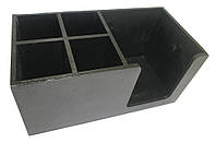 Органайзер барний Standart (Чорний) EcoWood, фото 1