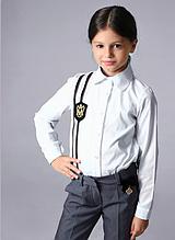 Школьная рубашка для девочки от тм MONE р-р 128,134,146,152,158