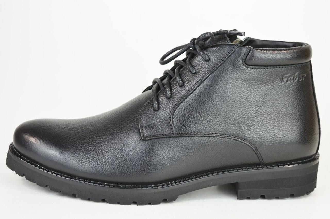 Ботинки мужские кожаные зимние Faber