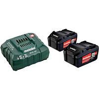 Комплект Metabo CAS 2 аккумулятора Li-Power 18В 4,0Ач + зарядное ASC 55 12-36В