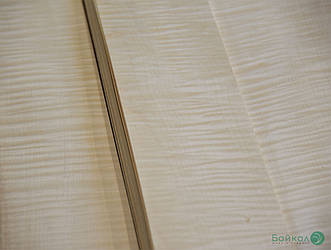 Шпон Клён Сикомора (натуральный) 0,55 мм АВ сорт - 2,10-2,55 м/10 см+