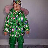 Зимний термокомплект - костюм для девочки, фото 1