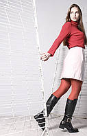 Шкіряні жіночі зимові чоботи