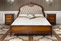 Ліжко 180 Amira Simex Горіх