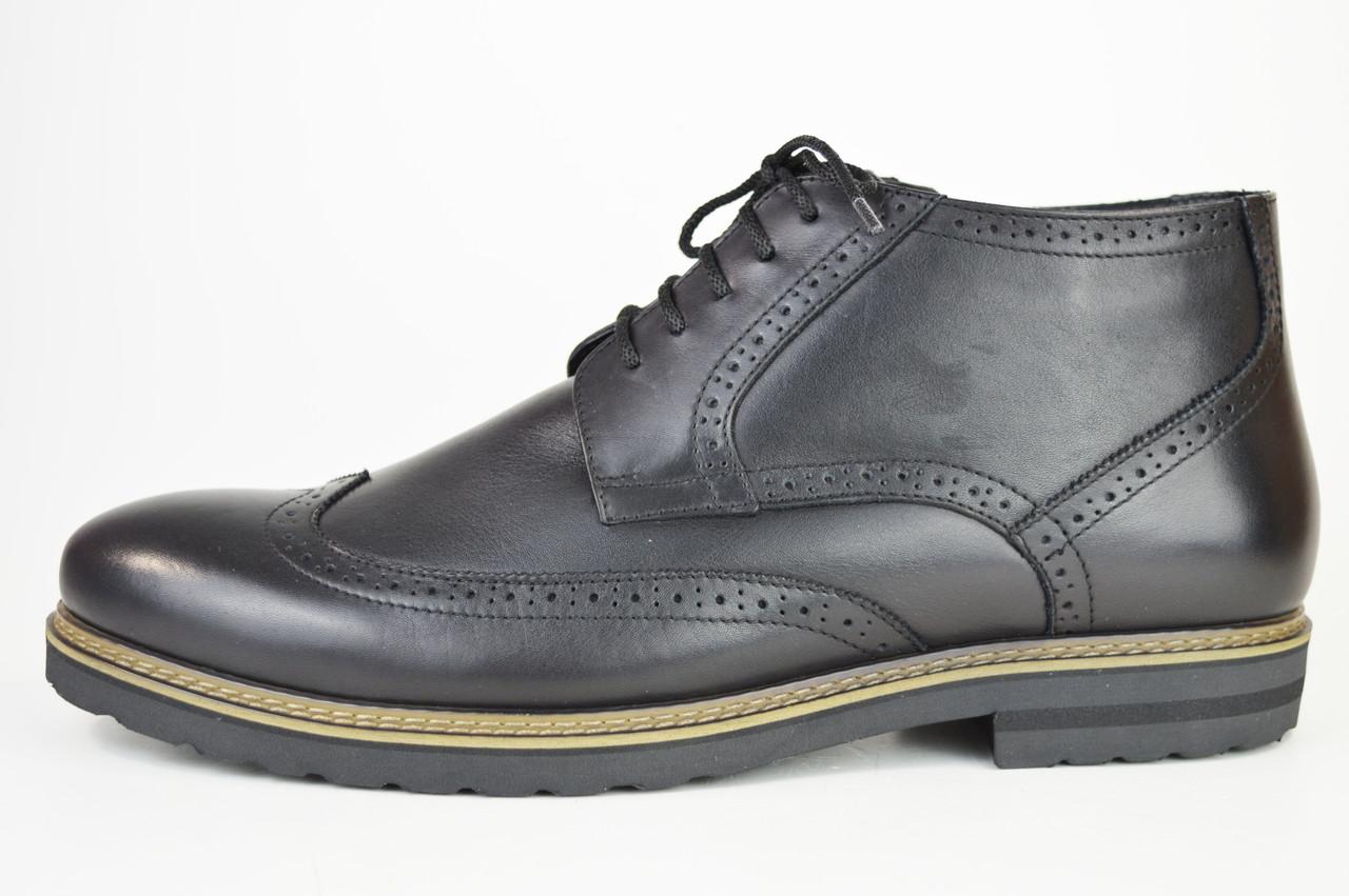 Ботинки зимние мужские черные Faber 177201 45 размер