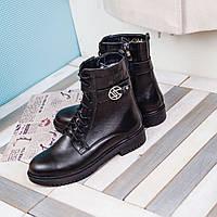Стильные женские ботинки на низком ходу от украинского производителя