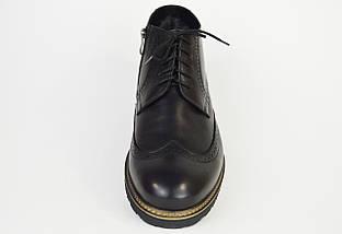 Ботинки зимние мужские черные Faber 177201 45 размер, фото 2