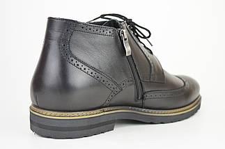 Ботинки зимние мужские черные Faber 177201 45 размер, фото 3
