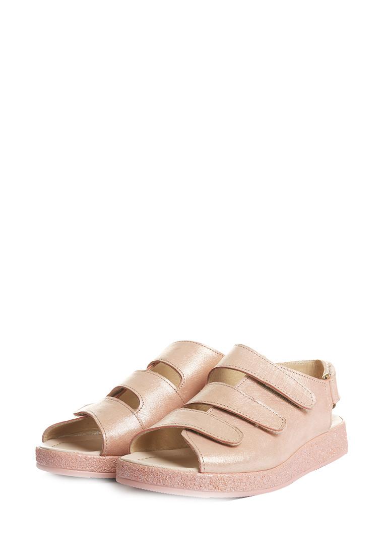 Бледно розовые босоножки на липучках  36 , 39