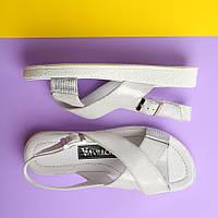 Серебристые женские сандалии 36 , 39,41, фото 1