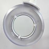 Лампа лупа на штативе напольная косметологическая с LED диодами 120 шт. на колесах, без регулировки света, фото 5