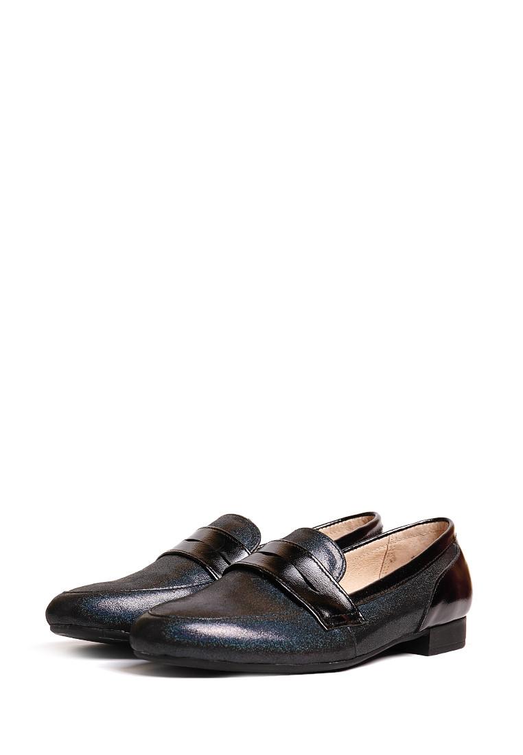Туфли на маленьком каблуке черные