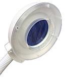 Лампа лупа на штативе напольная с LED диодами 120 шт, увеличение 5 диоптрий ., фото 6