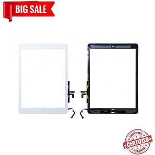 Сенсор (тачскрін) для планшета IPad 5 air  білий, фото 2