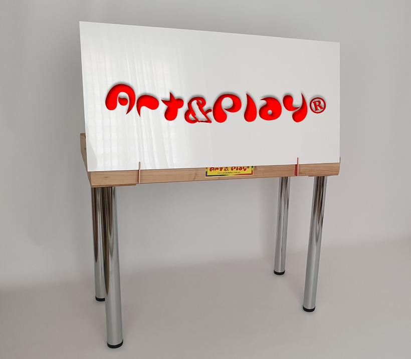 Двостороння кришка-мольберт 100х60см Art&Play®