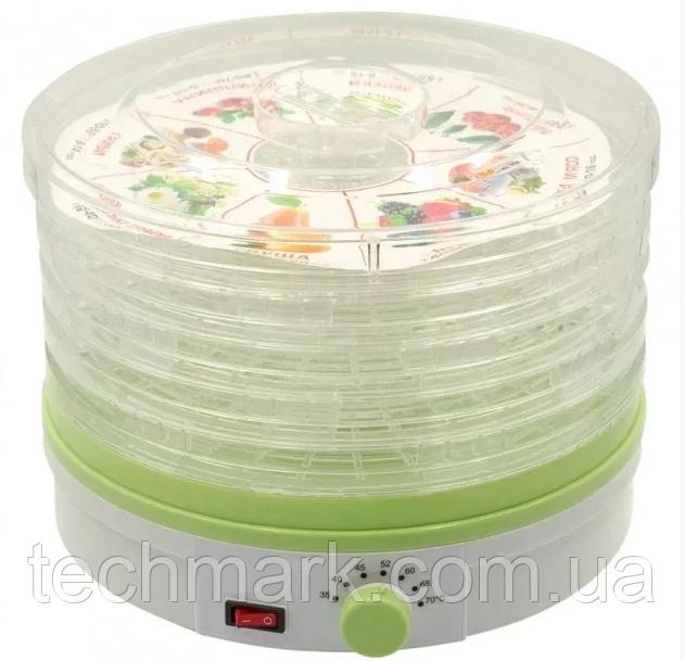 Сушилка электрическая для овощей и фруктов на 1 кг Rainberg RB-912