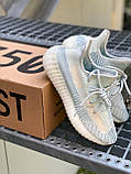ADIDAS YEEZY BOOST CLOUD WHITE, фото 4