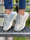 ADIDAS YEEZY BOOST CLOUD WHITE, фото 6