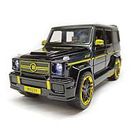 Машинка Автопром Mercedes-benz 7688M черная, фото 2